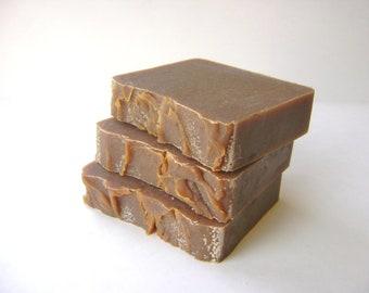Pumpkin Lavender Soap, Handmade Vegan Soap
