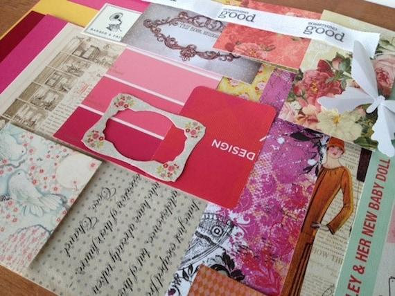 craft pack, mail art, scrapbooking, paper supplies