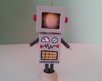 Boy in Robot Costume - MADE TO ORDER