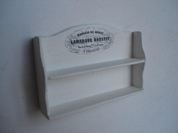 Miniature wall rack