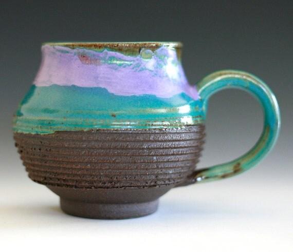 Large Coffee Mug, 17 oz, handmade ceramic cup, coffee cup