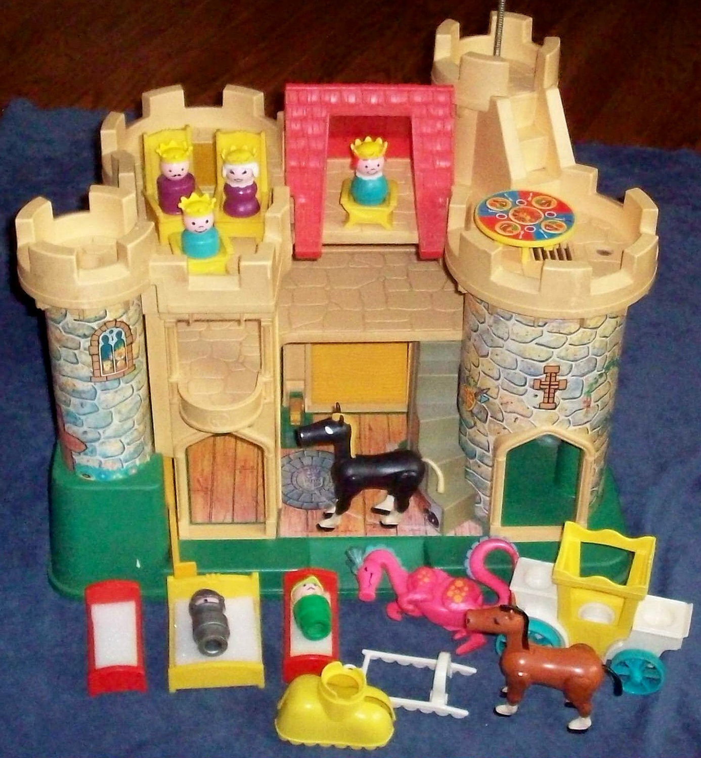 Pricing People: Fisher-Price Toy 993 Little People Play Castle By Tedsfptoys