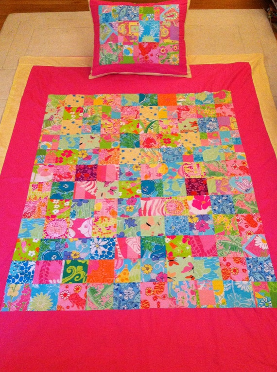 Items Similar To New Lilly Pulitzer Twin Size Quilt