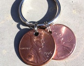 Custom Lucky Penny Keychain