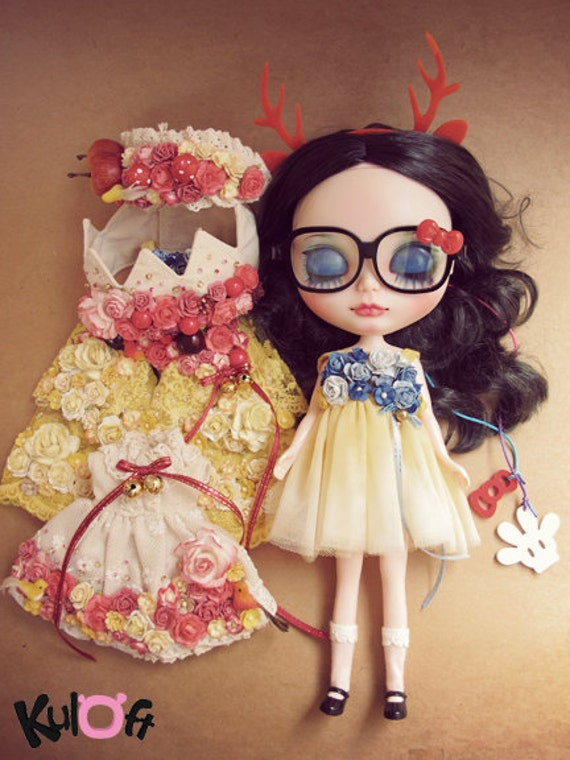 No11 Snow White custom blythe doll