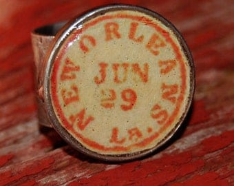 Postcard From New Orleans Ring