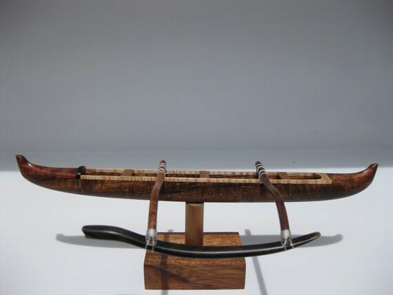 Hawaiian Racing Canoe