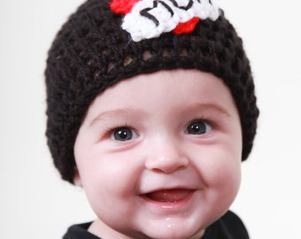 Mom Tattoo Hat, 0 to 3 months, Ready To ship