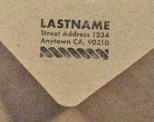 Art Deco Nautical Stamp- Return Address
