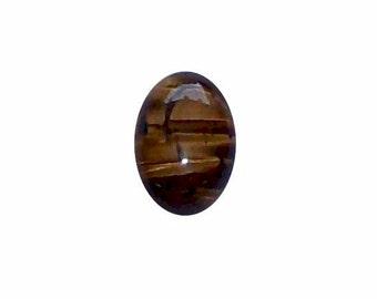18x13 Tiger eye  cabochon semi precious gemstone jewelry finding  447x