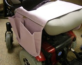 Power Chair Organizer Bag Scooter or Electric Wheelchair Pale Lavender