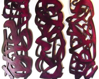 Ribbons TRIO in Cabernet CLEARANCE