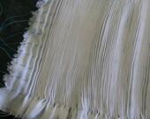 "Smocking Panel 16 row, 60"" fabric,  16 row pleated panel, ready-to-smock"
