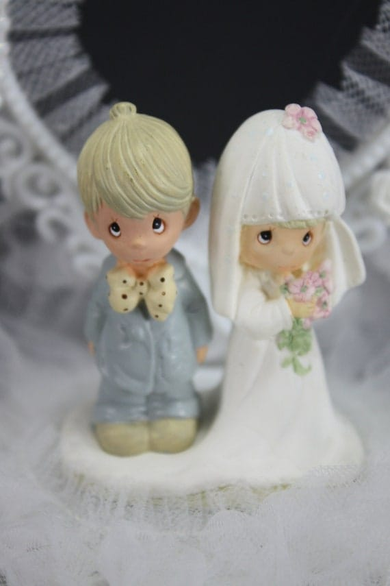 precious moment wedding cake topper vintage cake topper wedding anniversary precious moments 18717