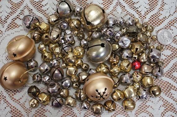 Destash Lot Of 120 Jingle Bells