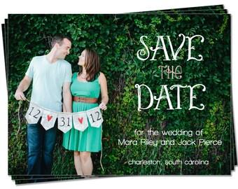 PRINTABLE - Wedding Save the Date Photo Card