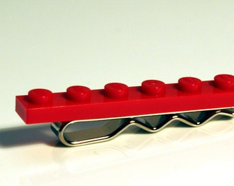 Red Brick Tie Bar - Choose your colour
