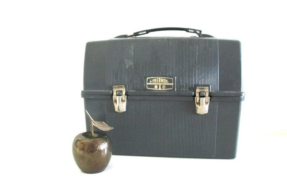 Time For Lunch - Mens Vintage Thermos Lunchbox
