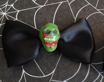 Zombie Hair bow, hair clip,