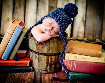 Newborn Photo Prop Baby Boy Hat