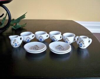 Vintage Mini Tea Set 8 Piece Made In Japan