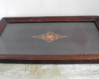 1930 Inlaid Serving Tray