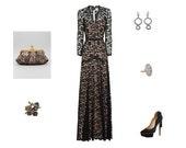 On the Red Carpet Lookbook handmade etsy jewelry