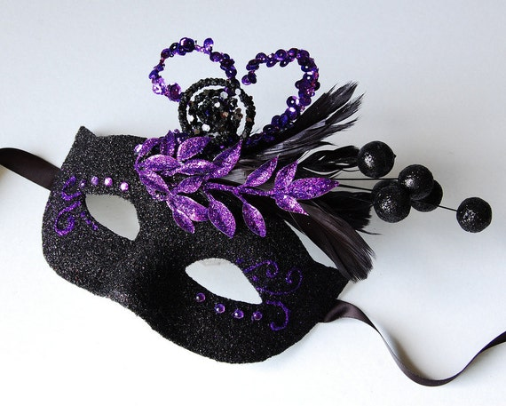 Bewitching Tumble - Halloween, Fairy, Mardi Gras, venetian or masquerade mask