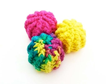 Kitty Jingle Bell Balls - Cat Toy - Choose Your Colors