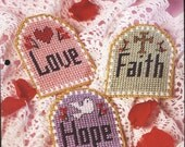 Plastic Canvas Craft Projects Patterns Faith, Hope and Love Plastic Canvas Patterns