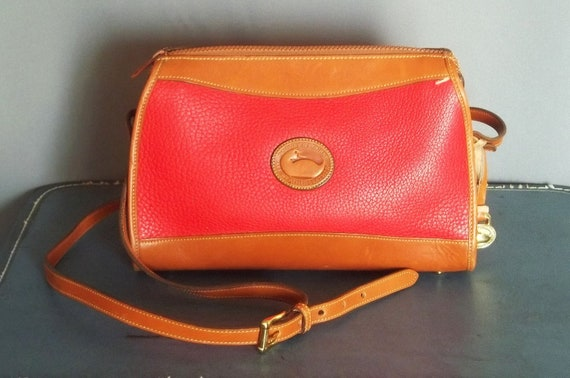 Vintage Authentic DOONEY and Bourke RED Bag.