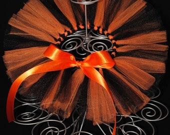 Black and Orange Halloween Newborn Tutu - Newborn Halloween Tutu - Newborn Tutu