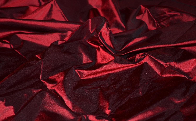 Red Iridescent Taffeta