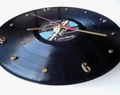 PINK FLOYD Vinyl Record Wall Clock (Wish You Were Here)