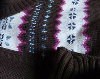 FairIsle design Sweater, Women's Large