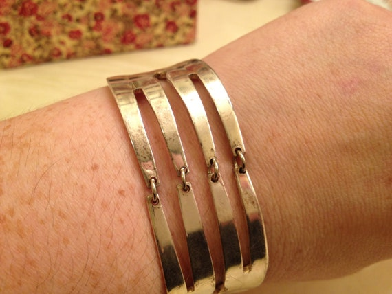 R e s e r v e d for Rita Oneida USA Fork Cuff Bracelet