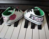 Olivia Paige - Rockabilly punk baby sneakers