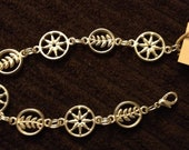 silver nautical bracelet