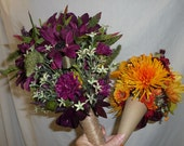 Balance on Wedding Party Bouquets and Boutonieres for Jessica