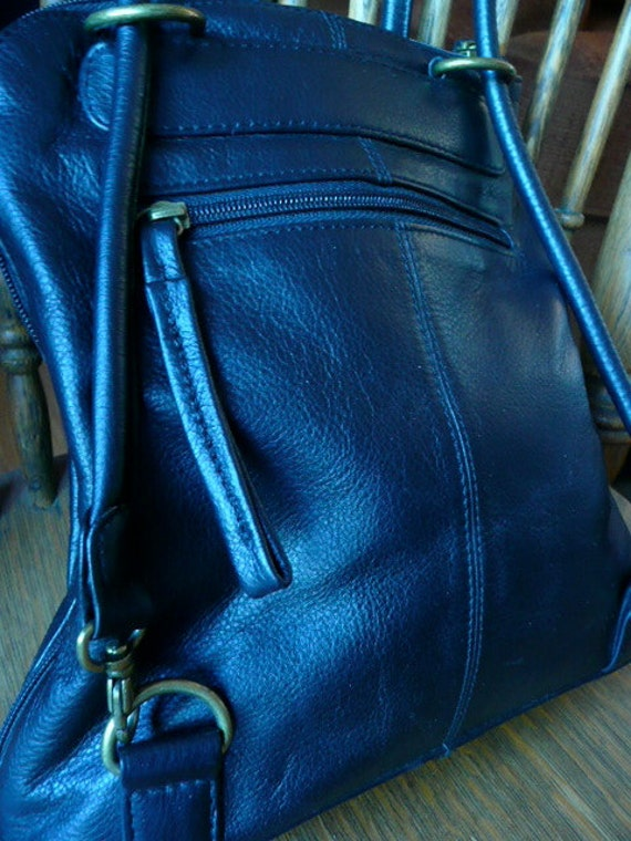Clark Black Purse Converts to Back Pack