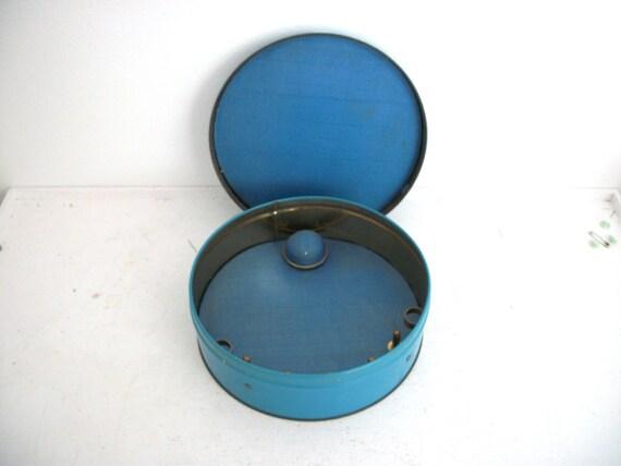 Vintage TinDeco Sewing Tin