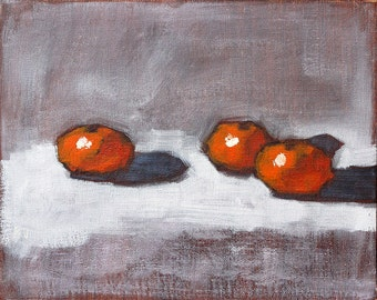 Still Life Painting- Oranges Original Oil