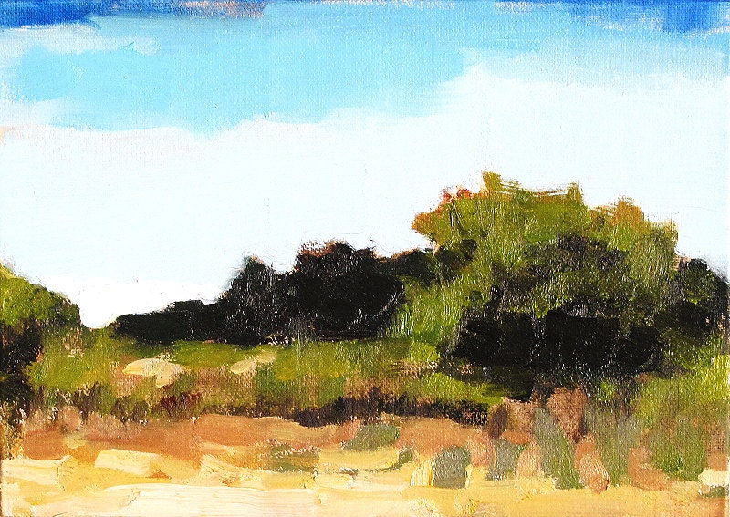 Santa Ynez Valley Landscape Painting, Santa Barbara, California by Kevin Inman Art