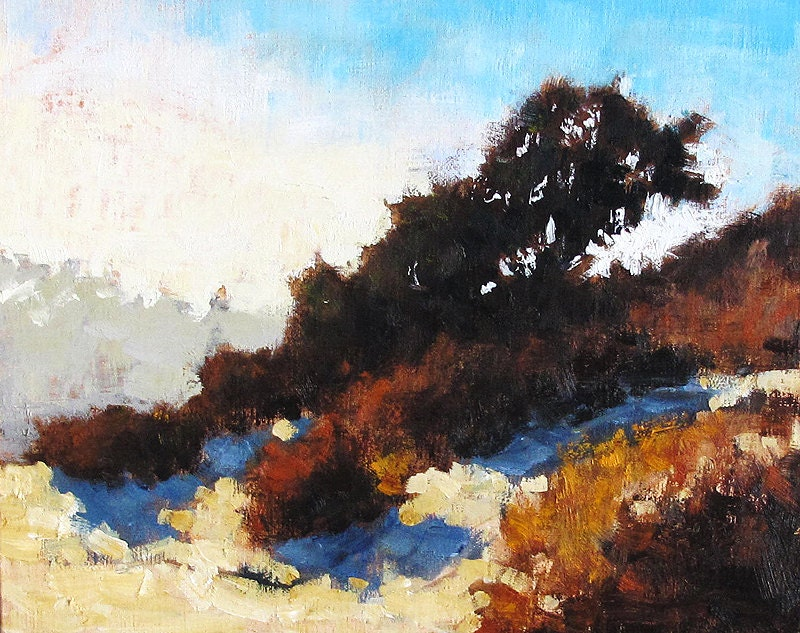 Autumn Landscape, San Diego