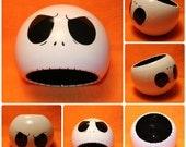 Jack Skellington Ceramic Bowl (Made to Order and Customizable)
