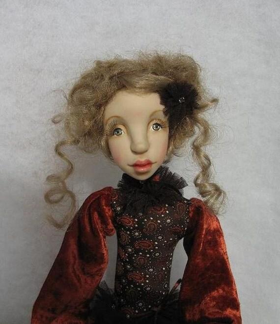 Julia  Art doll OOAK   Handmade art doll  Human figure doll