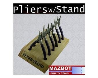 6pc Jewelry pliers set W/ Stand - SET101S