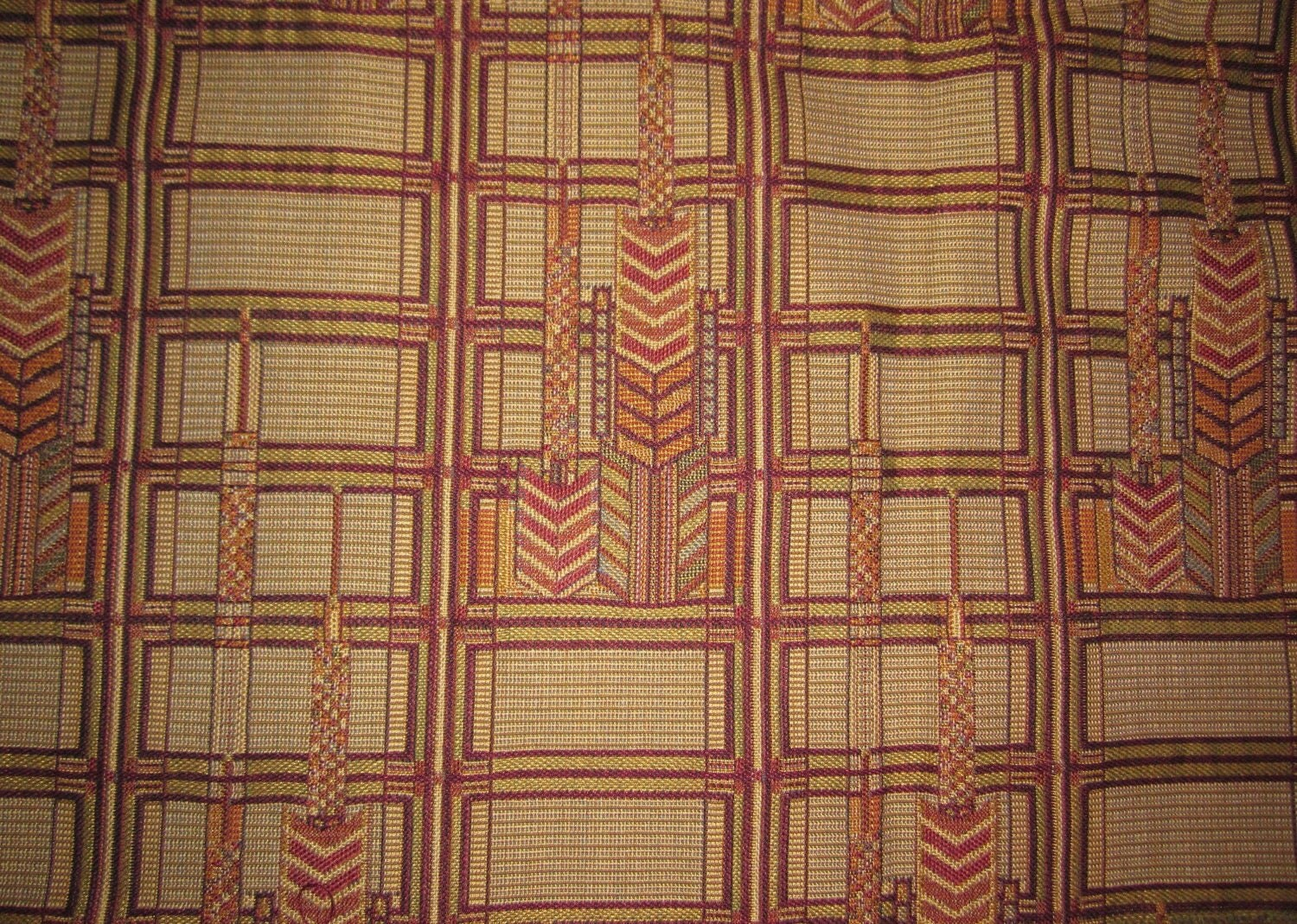 F Schumacher Frank Lloyd Wright Fabric By Whatsontheshelf