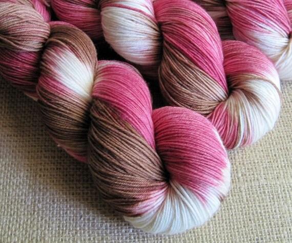 Hermione - SW Merino & Nylon Fingering Sock Yarn - 462 yds - Hand Dyed