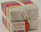 SALE Bunny Hill Designs Pastel Wool Fat Quarter Bundle- 8 Fat Quarters  54812AB